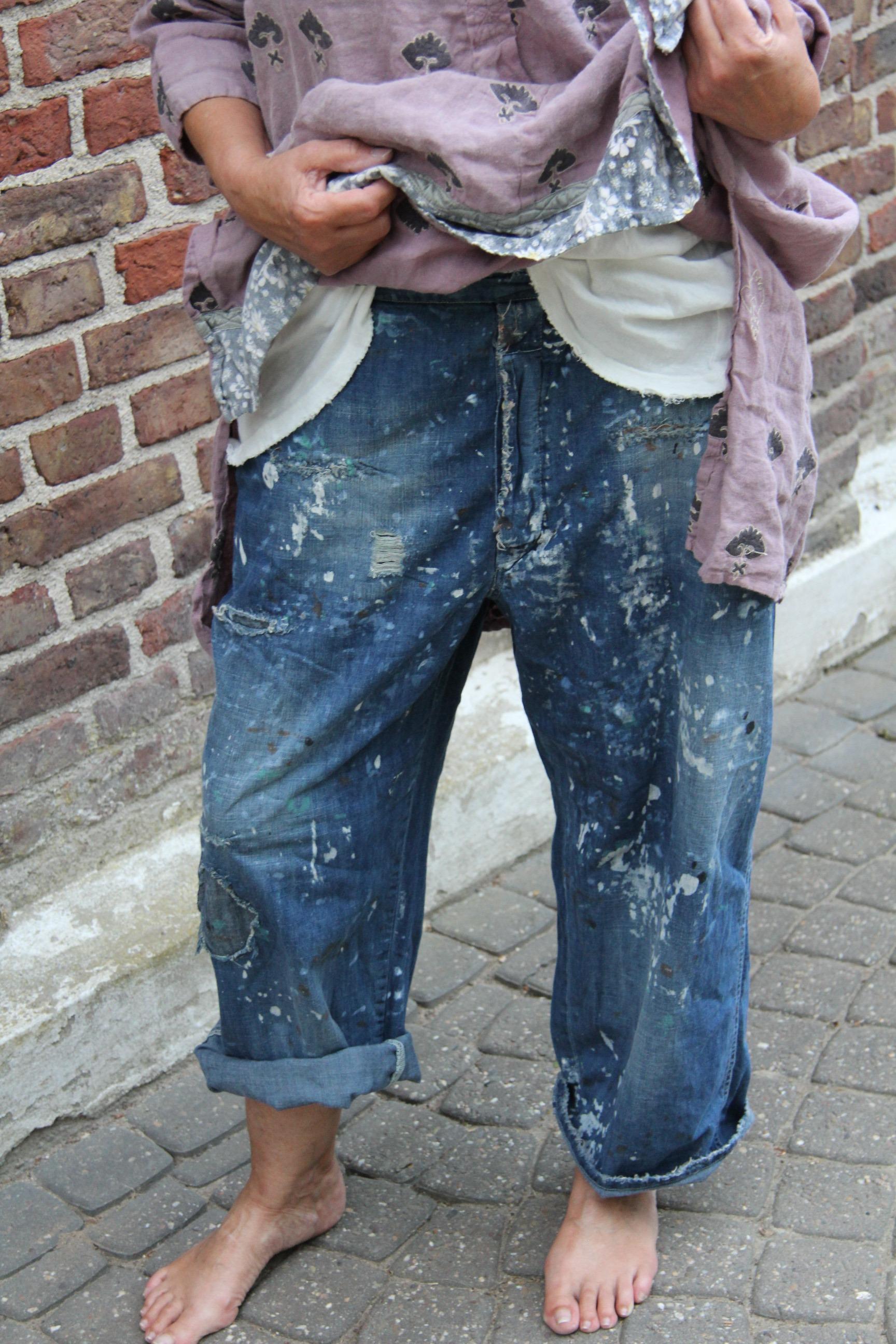 Magnolia Pearl Jeans sanforized Denims Art Class -one size