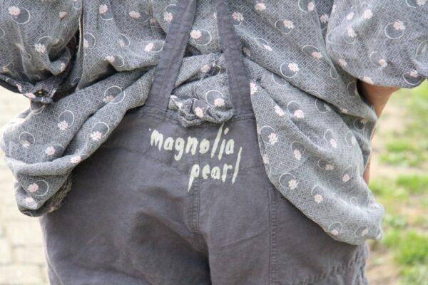 Magnolia Pearl Latzhose/Overall Love Vigilante in Hammer -one size