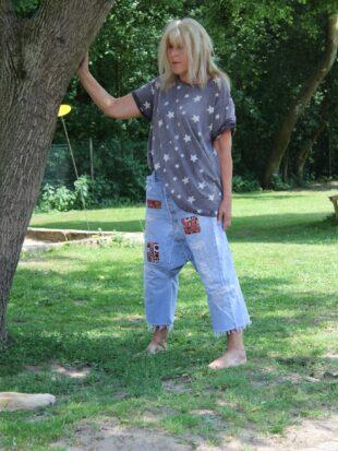 Magnolia Pearl Shirt Galaxy in Stargazer -one size
