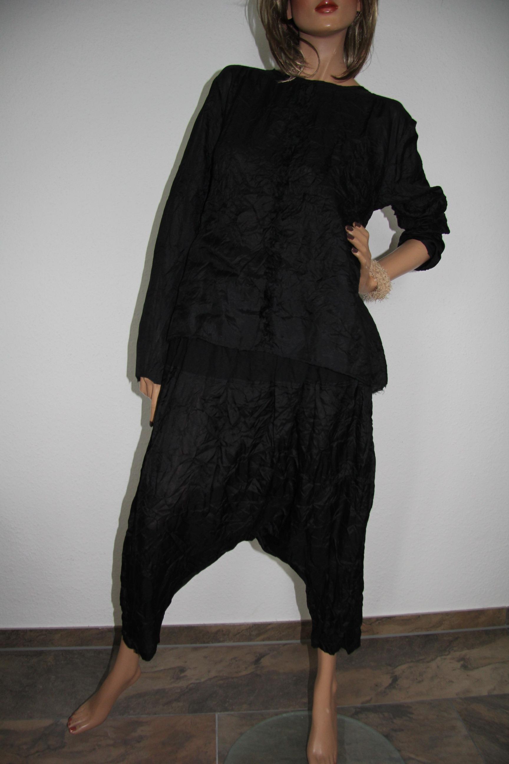 Ewa i Walla blouse / Bluse 44439_steel black