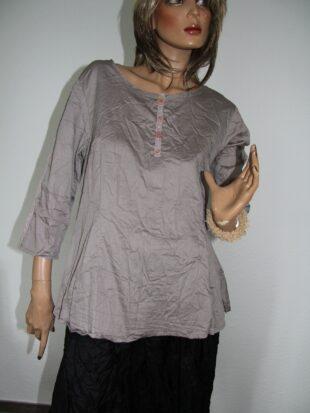 Ewa i Walla blouse / Bluse 44414 elephant grey
