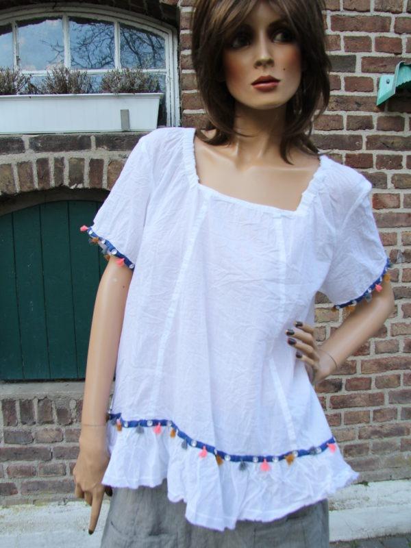 Ewa i Walla blouse 44385_white