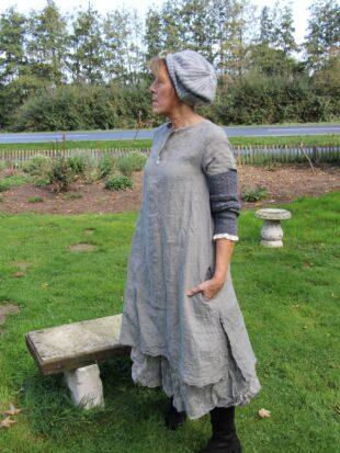 Ewa i Walla Kleid / dress 55504 SS17 / grey