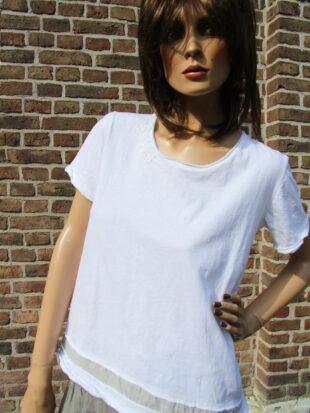 Ewa i Walla Bluse 44518 SS17 / Jersey Shirt
