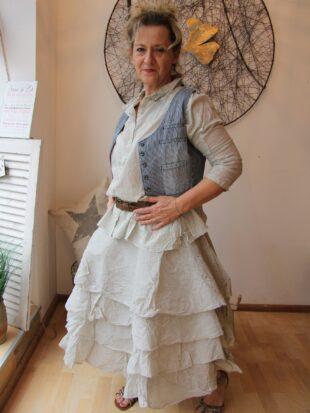 Ewa i Walla Rock / skirt Tine / soft mint / Hard Voile / 22857 SS17