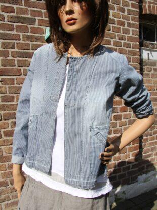 Ewa i Walla Jacke / jacket 66272 SS17 / original striped Twill