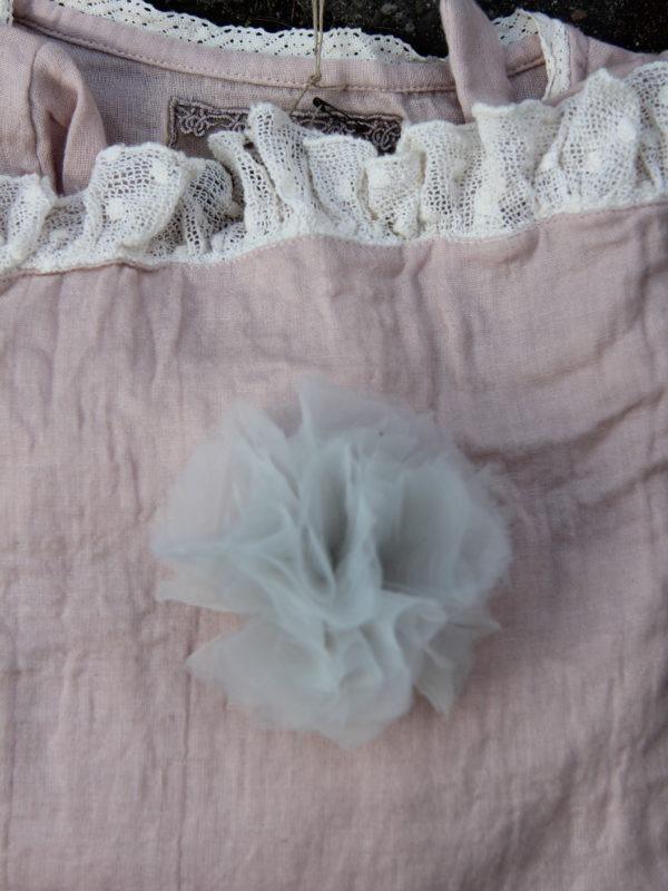 Les Ours Blume / Fleurs Organza bleu 70173 SS17