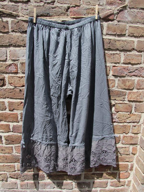 Ewa i Walla trousers / Hose / bloomers grey / grau 11268 SS17