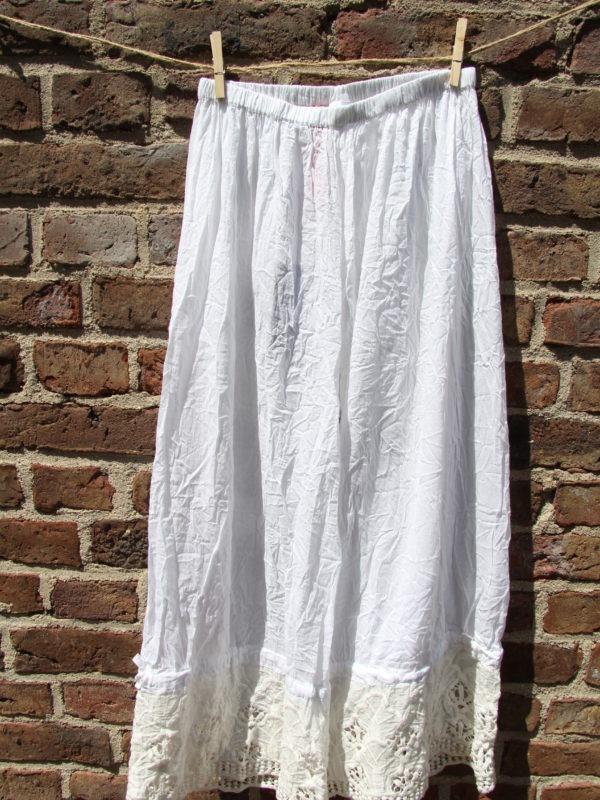 Ewa i Walla trousers / Hose / bloomers white / weiß 11268 SS17