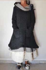 Les Ours Kleid Marylene, doudoune, 50185AW17