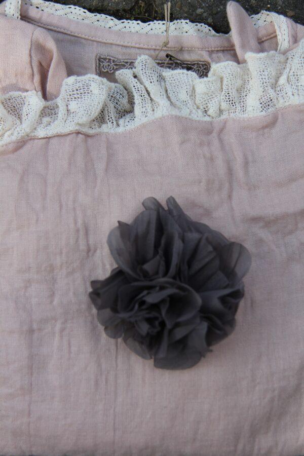 Les Ours Blume /Fleurs Organza gris / 70185AW17