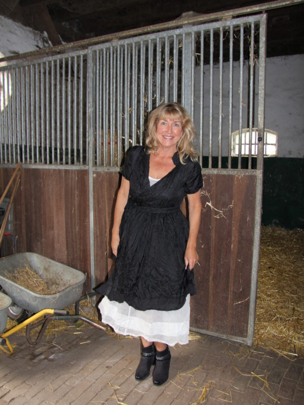 Ewa i Walla dress / Kleid 55402_steel black