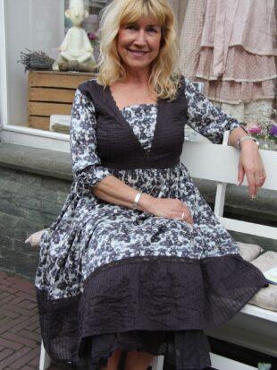 Ewa i Walla Kleid Original silk 55540 SS18 silk