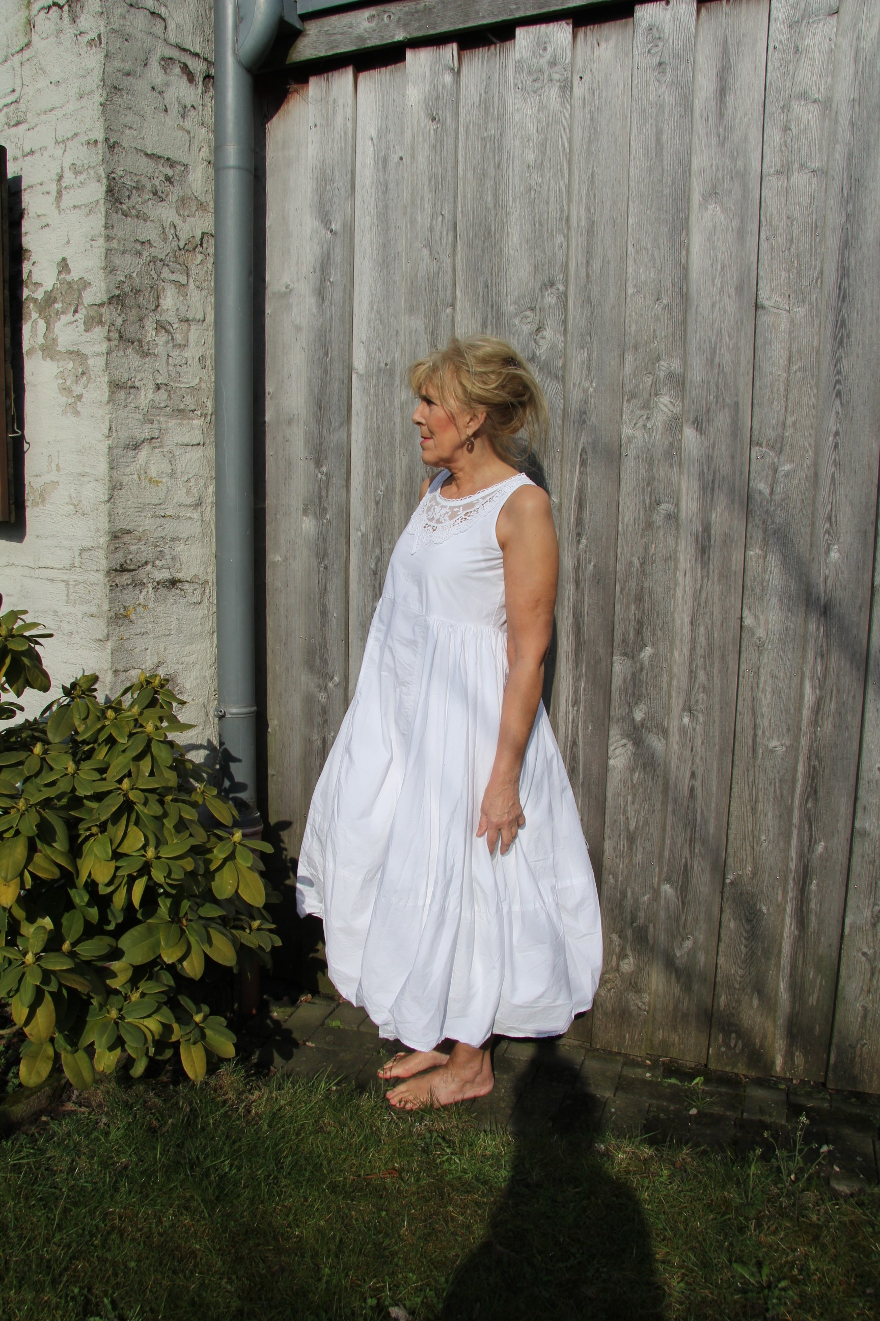 Ewa i Walla Kleid Crisp Cotton 55558 SS18 white